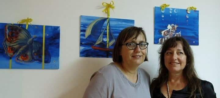 Autorin stellt Ihre Kunst auf Mallorca aus