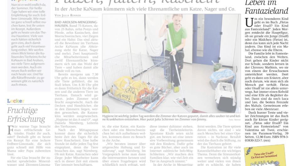 Waldeckische Landeszeitung – Leben im Fantazieland